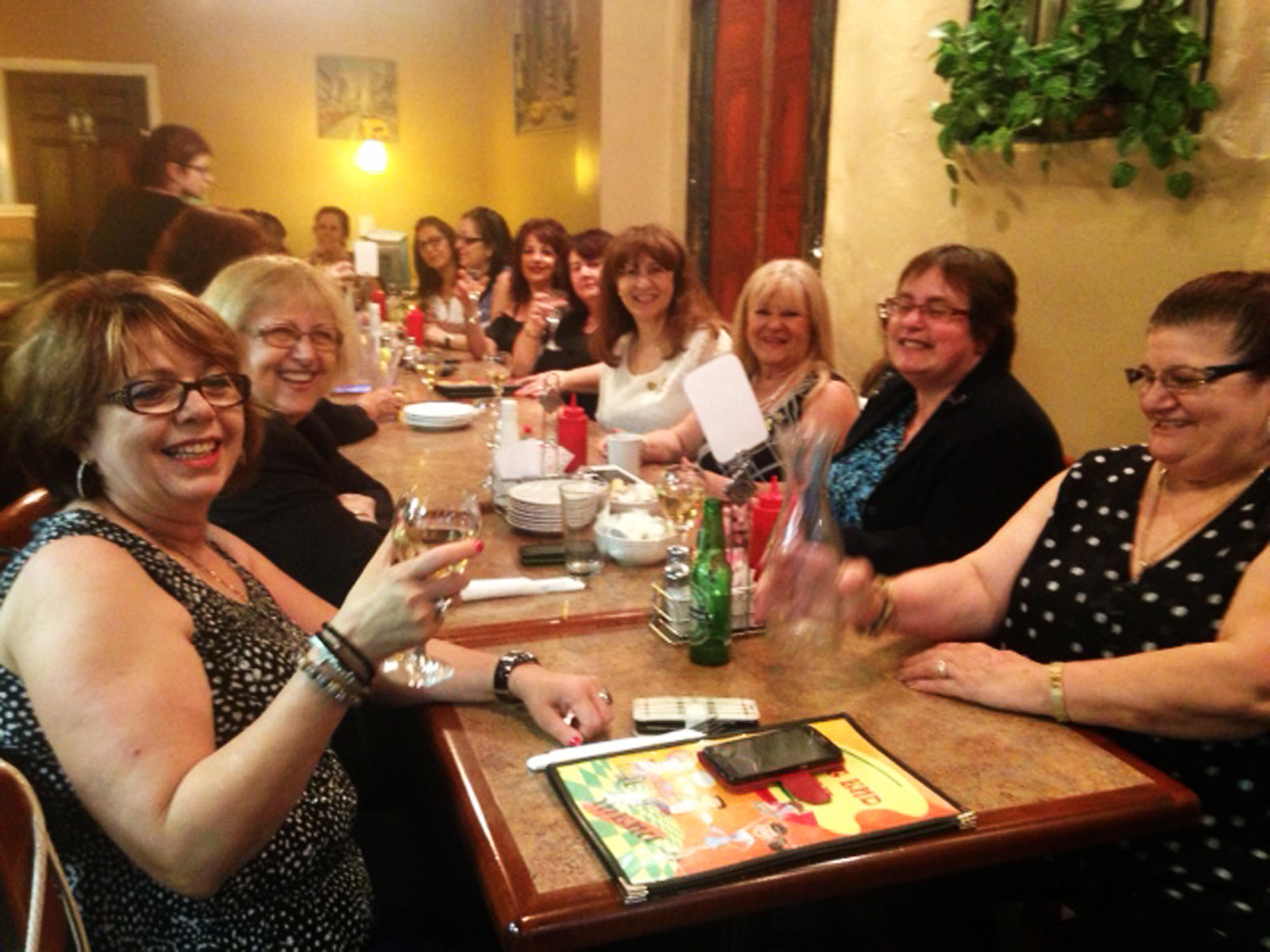 Closing Meeting Dinner--Hamilton, June 2017