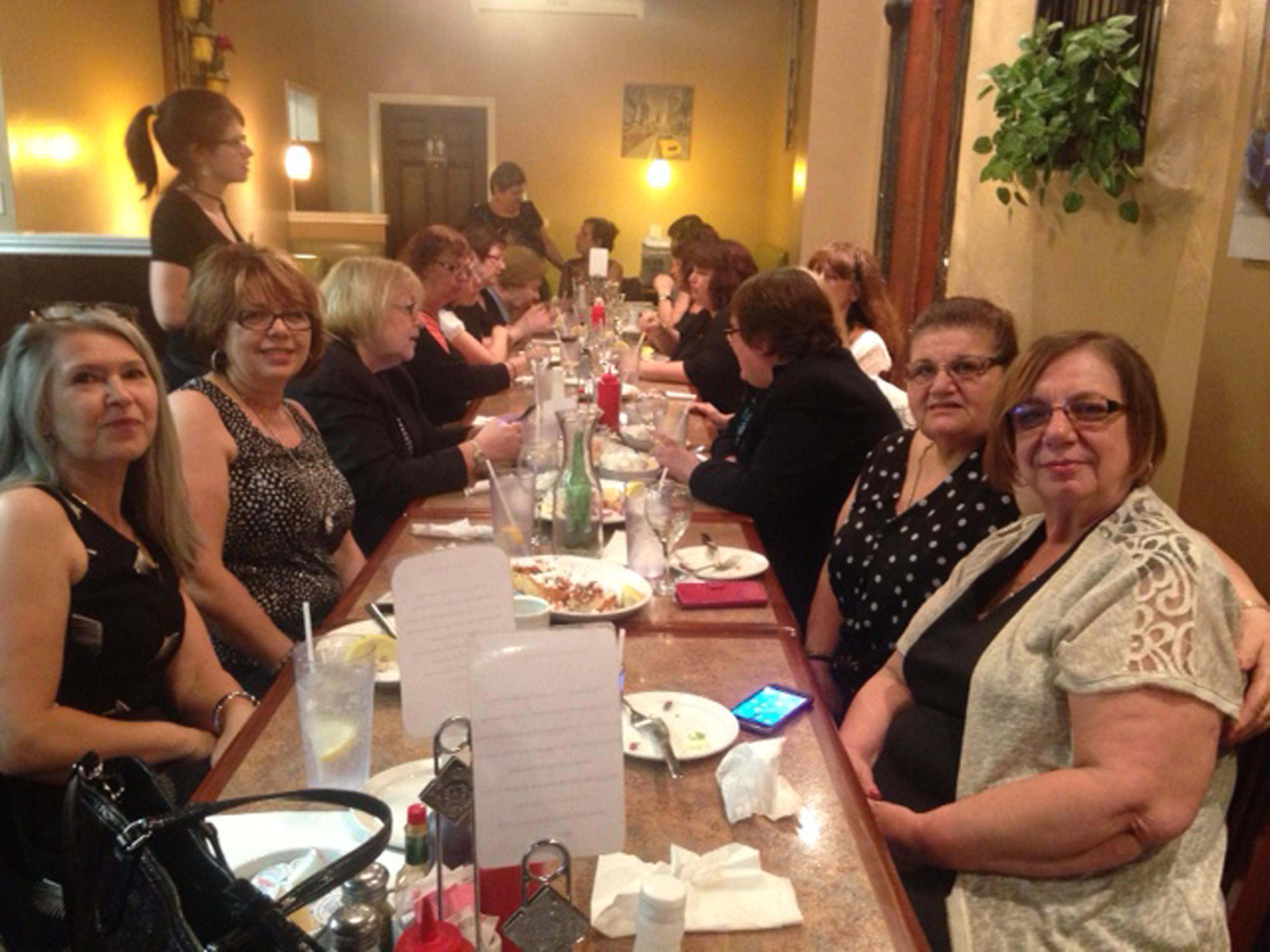 Closing Meeting Dinner--Hamilton, June 2017c