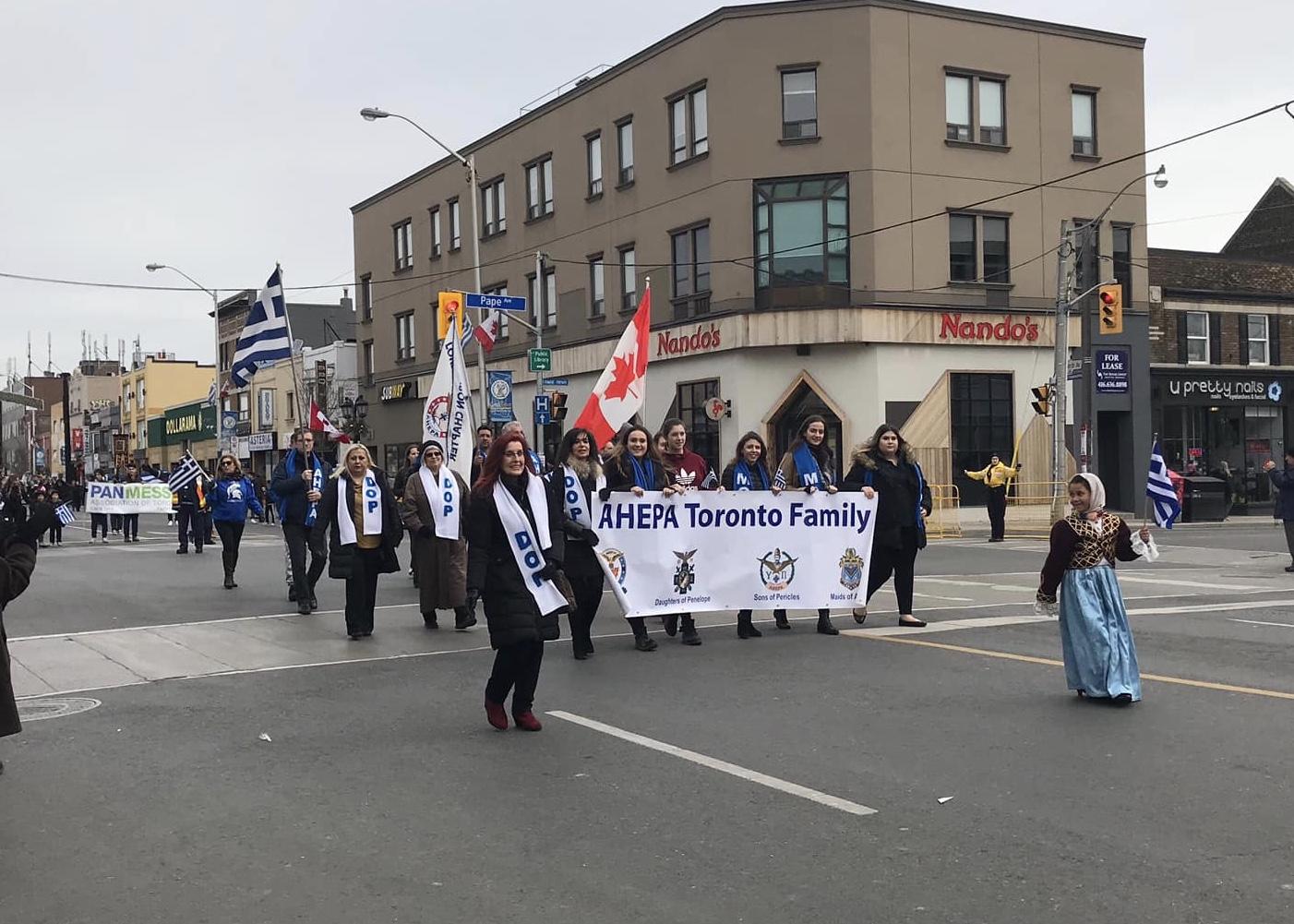 Toronto 2019 March 25th Parade