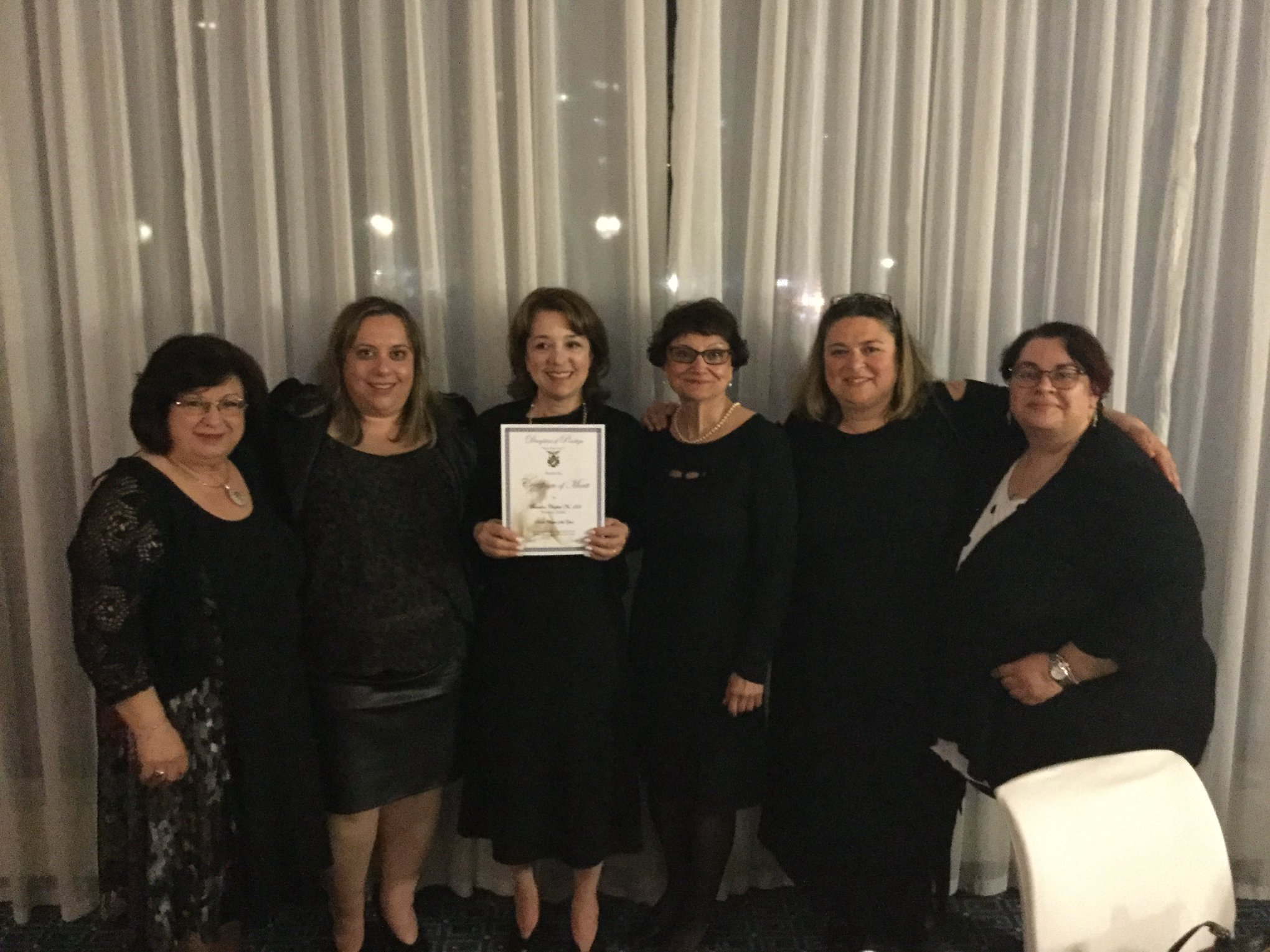 Montreal at the 84th Convention Gala; Chapter of the Year