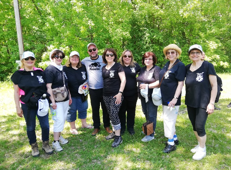 Montreal at the 2019 Brain Tumour Walk